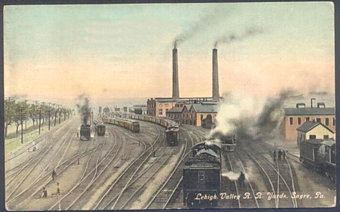 1912-lehigh-valley-rr-yards-postcard-sayre-pa