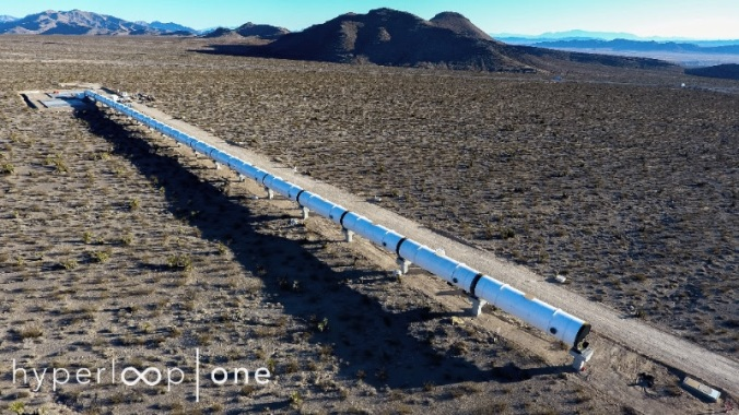 HyperloopOneTestTrack