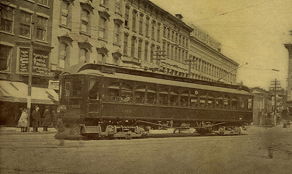 uticafranklinsquaresyracusetrolley