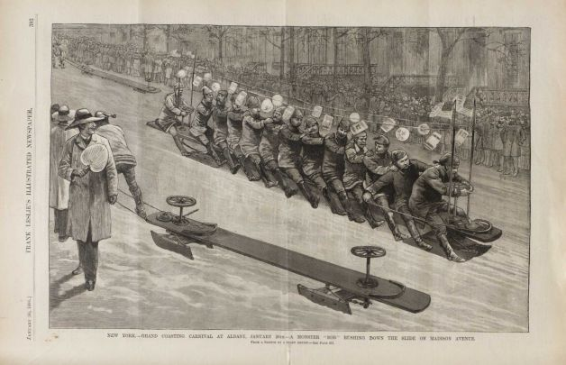 BobSled1888LesliesIllustratedWeekly