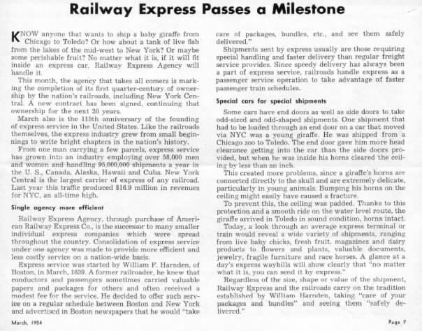 RailwayExpressMilestone