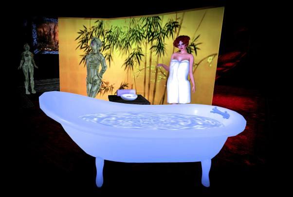 Lulu looking tub bot Metropolis 9
